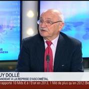 Reprise d'Ascométal: Notre offre, elle est performante socialement, industriellement et financièrement, Guy Dollé dans GMB