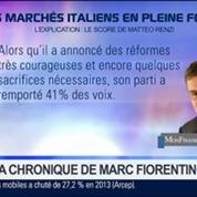 Marc Fiorentino: Les impacts de la victoire de Mattéo Renzi en Italie