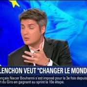 Le Soir BFM: Européennes 2014 J-5: Manuel Valls et Jean-Luc Mélenchon font campagne 4/4