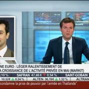 Zone euro: léger ralentissement de la croissance de l'activité privée en mai: Gilles Moec, dans Intégrale Bourse –