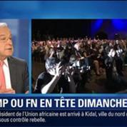 BFM Story: Européennes: Touché par différents scandales, l'UMP pourra-t-il battre le FN ce dimanche ?