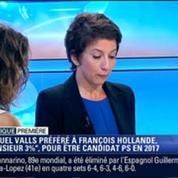 Politique Première: Manuel Valls est plus populaire que François Hollande pour les présidentielles de 2017 –