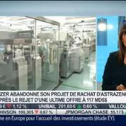 Le conseil santé d'Alice Lhabouz: Abandon de Pfizer pour le rachat d'Astrazeneca, dans Intégrale Bourse –
