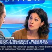 Politique Première: Agressive et démagogique: Marine Le Pen mal perçue par les Français
