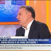 Duel Direct Gauche Direct Droite: Face à Jean-Jacques Bourdin, François Hollande a-t-il réussi à se faire entendre ?