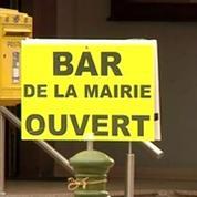 Alsace: la mairie d'un village accueille un bar
