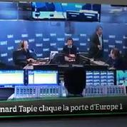 Top Média : Bernard Tapie claque la porte d'Europe 1 en direct