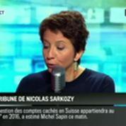 RMC Politique : La tribune de Nicolas Sarkozy