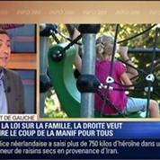 Direct de Gauche: Polémique sur la loi Famille: L'opposition veut jouer le match retour du mariage pour tous