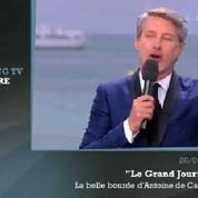 Zapping TV : la boulette d'Antoine de Caunes au Grand Journal à Cannes