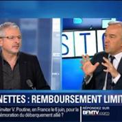 BFM Story: Santé: Le remboursement des lunettes sera limité à 450 euros