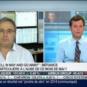 Bilan Hebdo: Le Sell in May and go awayva-t-il fonctionner cette année?, Jean-Louis Cussac et Stéphane Ceaux-Dutheil, dans Intégrale Bourse