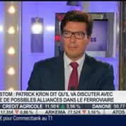 """""""Les médiocres résultats d'Alstom justifient la cession de ses activités dans l'énergie"""", Patrick Kron: Cédric Chaboud, dans Intégrale Placements"""
