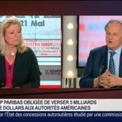 Jean-Paul Chifflet, directeur général de Crédit Agricole S.A , dans Le Grand Journal 1/4