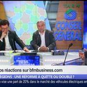 Régions: est-ce une réforme à quitte ou double ?, dans Les Décodeurs de l'éco 4/5