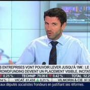 Le crowdfunding est-il un placement intéressant ?: Benoit Bazzocchi, dans Intégrale Placements –