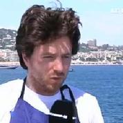 Jean Imbert aux commandes des cuisines d'un voilier à Cannes