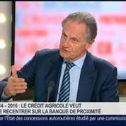Jean-Paul Chifflet, directeur général de Crédit Agricole S.A, dans Le Grand Journal 2/4