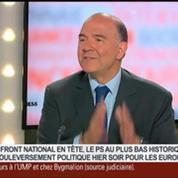 Pierre Moscovici, ancien ministre de l'Économie et des Finances, dans Le Grand Journal 1/4