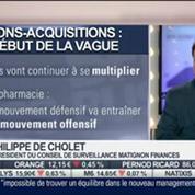 Mathieu L'Hoir VS Philippe de Cholet: Publicis / Omnicom: l'échec d'une fusion, dans Intégrale Placements – 1/2