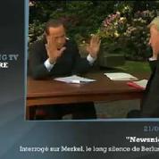 Zapping TV : le malaise de Silvio Berlusconi sur la BBC