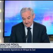 L'économie française n'est plus en récession, mais elle n'est pas encore en face de reprise, François Pérol, dans GMB