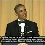 ZAPPING Les 5 meilleures blagues de Barack Obama au dîner des correspondants