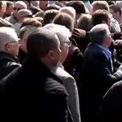 En campagne pour les Européennes, Marine Le Pen chahutée à Sotteville-lès-Rouen