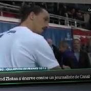 Top Média : Zlatan Ibrahimovic s'énerve contre un journaliste de Canal +
