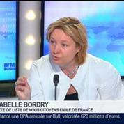 Ceux qui ont voter UMP l'ont fait contre le Front National, Isabelle Bordry dans GMB