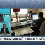 Quels sont les nouveaux métiers du numérique?: Jean Ferré, Didier Desert et Igor Quézel-Perron, dans 01Business 3/4