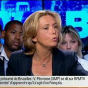 BFM Politique: L'interview de Valérie Pécresse par Apolline de Malherbe
