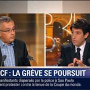 Le Soir BFM: SNCF: faut-il poursuivre la grève ? 6/7