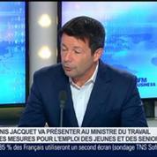Denis Jacquet présente son plan pour favoriser l'emploi des seniors, Denis Jacquet, dans GMB
