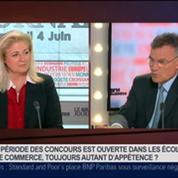 Bernard Ramanantsoa, directeur général d'HEC, dans Le Grand Journal 3/4