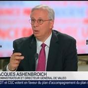 Jacques Ashenbroich, administrateur et directeur général de Valeo, dans Le Grand Journal 2/4