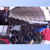 Sarkozy interrogé sur son retour: «C'est tout ce que vous avez retenu de la cérémonie?»