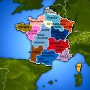 Réforme territoriale: la carte des régions de François Hollande