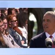 Barack Obama rend hommage à son grand-père