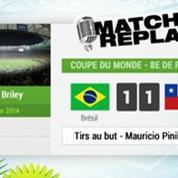 Brésil - Chili : Le Match Replay avec le son RMC Sport !