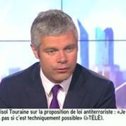 Laurent Wauquiez estime que «le spectacle donné par l'UMP est pitoyable»