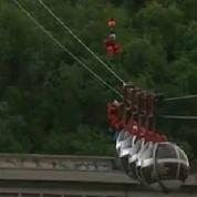 37 personnes bloquées dans un téléphérique à Grenoble