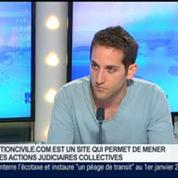 Demander Justice, le premier service qui permet de saisir le tribunal par internet, Jérémy Oinino dans GMB –
