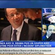 Le Soir BFM: D-Day: François Hollande a reçu la reine Elisabeth II, Barack Obama et Vladimir Poutine