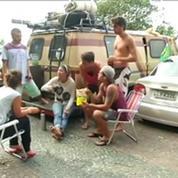 Mondial : à Rio, les fans dorment où ils peuvent