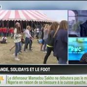 RMC Politique : François Hollande veut regagner des points grâce au mondial –