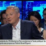 BFM Politique: L'interview de Bruno Le Maire par Christophe Ono-dit-Biot du Point 3/6