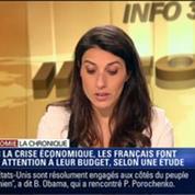 L'Éco du soir: Avec la crise économique, les Français prévoient de plus en plus leur budget