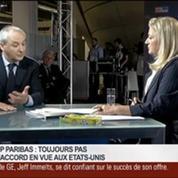 François Pérol, président du directoire de BPCE, dans Le Grand Journal – 2/4