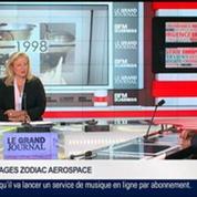 Olivier Zarrouati, président du directoire de Zodiac Aerospace, dans Le Grand Journal – 3/4